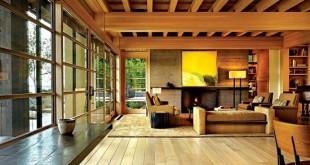 خانه چوب