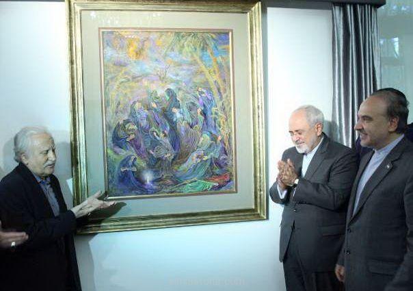 وزیر امور حارجه-استاد فرشچیان