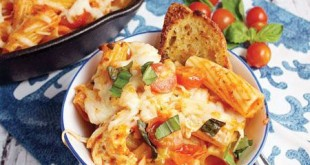 پاستا فرمی با سس پنیری