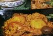 غذا با مرغ
