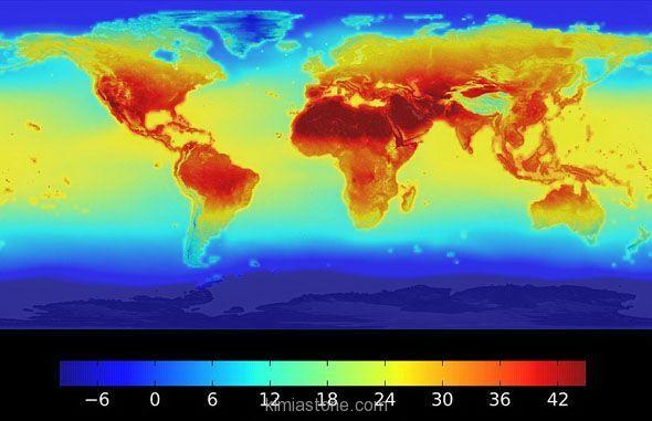 ۲۰۱۶ گرمترین سال جهان