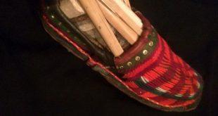 «ژینگ ژلانگ» پاپوش سنتی سیستان و بلوچستان