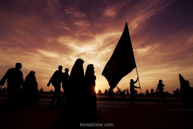 -مهمانان امام حسین(ع) پذیرایی می شوند