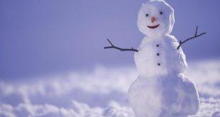 آدم برفی - برف
