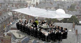 گشایش اولین رستوران هوایی کشور