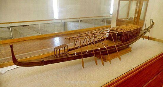 قایق خورشیدی باستانی
