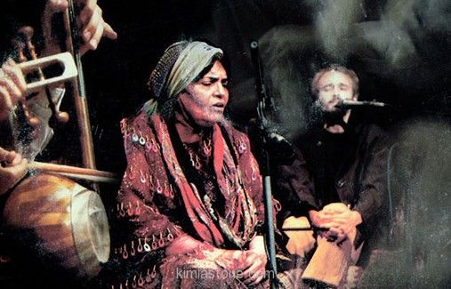 پروین بهمنی لالایی خوان قشقایی