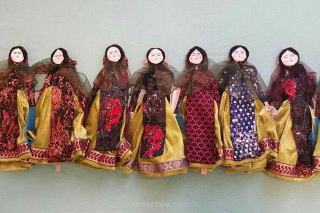 نمایشگاه عروسک در گذر زمان در برج آزادی