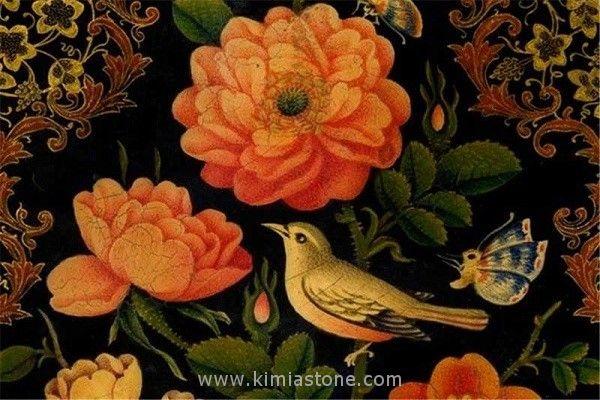 گل و مرغ، یکی از مهمترین مکتبهای هنر نقاشی ایرانی