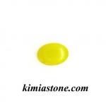 عقیق زرد طبیعی با حکاکی شرف الشمس
