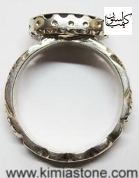 خرید اینترنتی شرف الشمس خرید انگشتر نقره انگشار دست ساز نقره عقیق سرخ یمنی عکس انگشتر