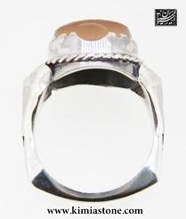 انگشتر نقره با حکاکی آیه ومن یتق الله عکس انگشتر عقیق یمنی انگشتر مردانه انگشتر زنانه رکاب نقره