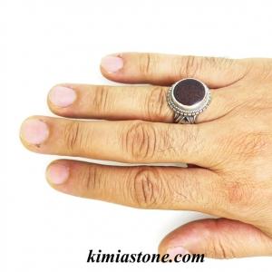 انگشتر سازی و سفارش حکاکی روی سنگ