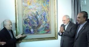 وزیر امرو حارجه-استاد فرشچیان
