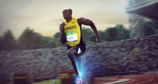 اوسین بولت سریع ترین انسان جهان