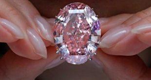 رکورد شکنی الماس صورتی